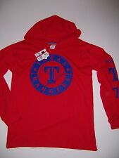 0ba64811be304 Texas Rangers Pink Victoria's Secret Red Hooded Long Sleeve Campus ...