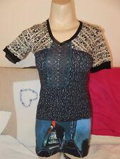 AVENTURE DES TOILES magnifique chemise  pour femme taille 36