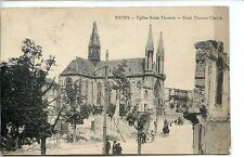 CP 51 Marne - Reims - Eglise Saint-Thomas