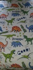 Kids Single Duvet Set Dinasours
