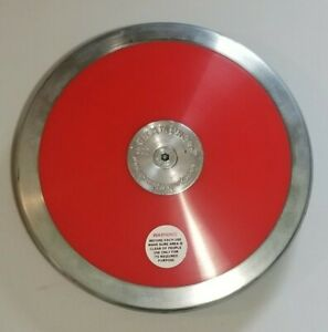 Champro Discus RED - 85% Rim Weight Size 1.6 KG High School Boys FREE SHIPPING