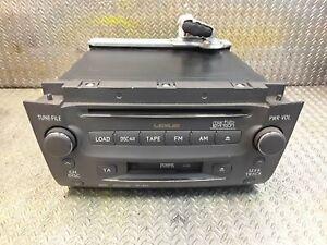 Lexus GS Tête Unité Audio Lecteur CD Marque Levinson Pour Mk3 05-11 86120-30G20