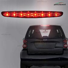 Terzo stop a LED per Smart Fortwo luce fanale posteriore fanalino 8 LED cromato