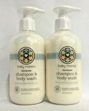 Two Pack of Baby Mantra Shampoo & Wash Newborn, 8 oz