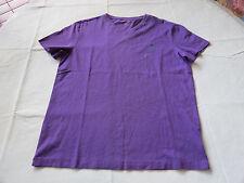 Men's Polo Ralph Lauren v neck T shirt soft M 661005 Classic Violet purple