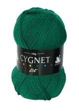 Cygnet DK Soft 100 Acrylic Knitting Yarn 100g Emerald 377