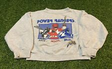 Vintage 1994 Boy's Mighty Morphin Power Rangers Gray Sweatshirt Size 6