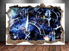 3D Uhrwerk Bunt Farbe Bild Leinwand Abstrakte Kunst Bilder Wandbilder D0847
