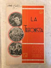 SPARTITO MUSICALE DA QUELL'ISTANTE CANZONE TANGO DAL FILM LA TELEFONISTA 1932
