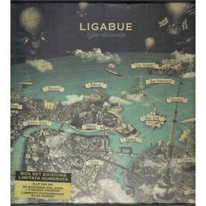 Ligabue Box 3 LP Vinile Giro Del Mondo Deluxe Limited Numerato Warner Sigillato