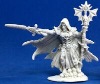1 x MALEK NECROMANT- BONES REAPER figurine miniature jdr rpg necromancer 77172