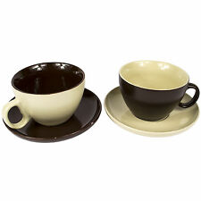 Contemporary Coffee Cup and Saucer Sets