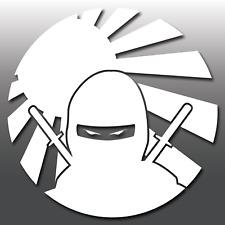1x Divertente JDM NINJA Rising Sun Adesivo Decalcomania In Vinile Per Auto Giapponese | | euro | DUB