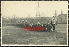 E4/3 WW2 ORIGINAL PHOTO OF GERMAN WEHRMACHT POLICE BANDSMEN