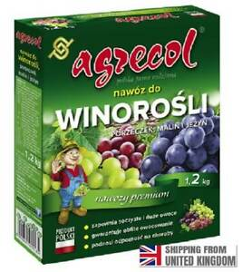 Fertilizer for Grapes, Currants, Raspberries and Blackberries 1.2 kg, AGRECOL