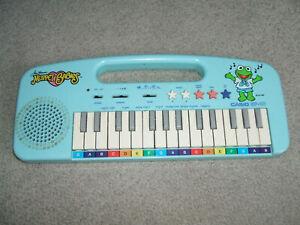 Vintage 1987 Jim Henson Muppet Babies Casio EP-10 Keyboard, Tested WORKS