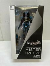 "Batman Arkham Asylum Mr. Freeze 7.5"" Deluxe Figure DC"