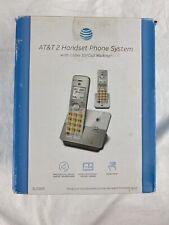 AT&T 6.0 Caller ID Call Waiting 2 Cordless Handsets EL51203