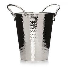 Vintage Stainless Steel Beer Champagne Wine Bottle Holder Ice Cooler Bucket Bowl