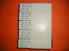 SLEEVE OF 5 NOS TUNG SOL JAN 5678 SUB MINIATURE VACUUM TUBES, SAME DATE CODES