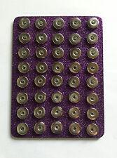 """PurpleGlitter 40 Snap Base Holder Keeper 18mm 20mm Jewelry Organizer 6""""x8"""" Chunk"""