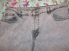 DG2 Diane Gilman Denim Purple Wash Five Pocket Jeans
