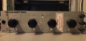Cam Metric Resitance Decade Box 0.1 Ohm To 1K Ohm