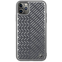 Nillkin Herringbone,Cloth Hybrid Reflective Case Cover for iPhone 11 Pro Max