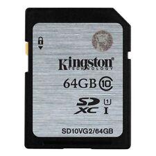 Cartes mémoire Kingston pour appareil photo et caméscope SDXC