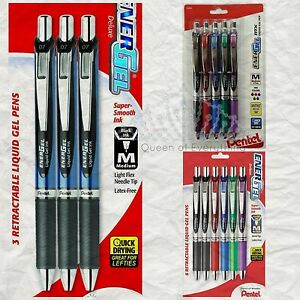 Pentel Energel Pens Sets Office & School Essential! Trusted Brand Buy 2 & SAVE!