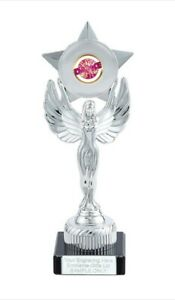 Disco Dance Mirror Ball Unity Victory Award 230mm Trophy (H) ENGRAVED FREE
