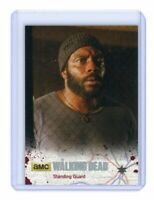 The Walking Dead Season 4 Part 1 Card 06 Silver Base Parallel /99 Standing Guard