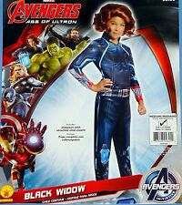 Avengers Black Widow Costume;girls Med-8-10;Age of Ultron;Jumpsuit-shoe covers