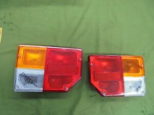 Fiat 128 3° Series Pair Lights Rear New With Lights By Reverse