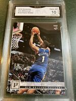 2019-20 Panini ZION WILLIAMSON ROOKIE Card Pelicans GMA 10 Gem Mint Psa Bgs Sgc