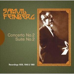 Samuel Feinberg - Concerto No 2 Op 36 [New CD]