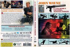 È una sporca faccenda, tenente Parker! (1973) DVD Edizione Warner Italiana Raro