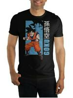 DRAGON BALL Z TSHIRT MEN'S CREW NECK SHORT SLEEVE GOKU GRAPHIC SIZE M BLACK