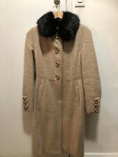 Dolce Gabbana Fur Lined Jacket W/ Lace Interior