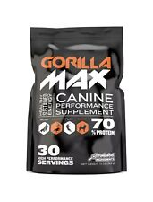 New listing Gorilla Max Muscle Builder for Dogs - Pitt Bulls, Bull Dogs, Working Breeds