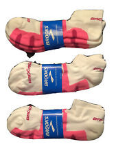 6 Pairs BROOKS GHOST MIDWEIGHT SOCKS    XL