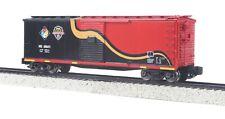 MTH S Gauge 35-74023 Rebuilt Steel Box Car (Hi-Rail Wheels) - Norfolk Southern