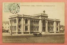 1939 FRENCH WEST AFRICA SENEGAL POSTCARD DAKAR TO USA 128188
