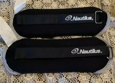 Nautilus Adjustable Ankle/Wrist Weights 1 Lb Set Of 2 New With Out Box