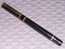 Waterman Laureat Black Fountain Pen Fine Nib