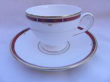 Wedgwood colorado tasse à thé 8.5cm x 6.5cm & soucoupe 14.5cm. excellent.