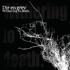 FREE US SHIP. on ANY 3+ CDs! NEW CD Dir en grey: Withering to Death CD+DVD