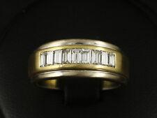 Attraktiver Baguette Diamant Ring ca. 0,80ct  750/- Gelbgold Weißgold