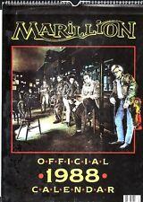 MARILLION  1988  CALENDAR,  OFFICIAL, new