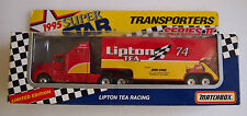 MATCHBOX RACING SUPERSTARS LIPTON TEA   HTF